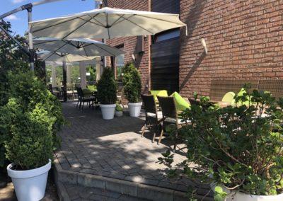 Gaststätte Restaurant Weernink in Nordhorn: Sonnenterrasse