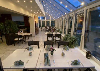 Gaststätte Restaurant Weernink in Nordhorn: Wintergarten